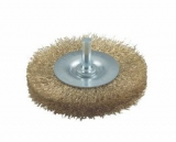 Brass wheel brush 75mm/8mm/0, 2mm