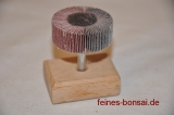 Flap wheel with 6mm shank 40x15 K120