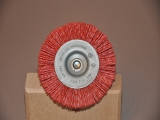 Nylon disc brush 75mm/8mm/1mm